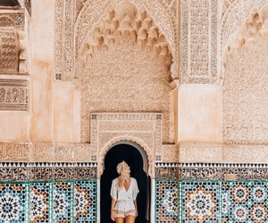 cities, marrakech, and outfits image