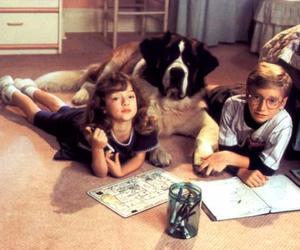 childhood, dog, and kids image