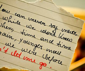 the fray, never say never, and Lyrics image