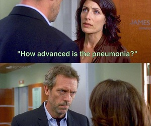 cuddy, dr house, and funny image