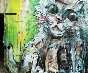 art, magnifique, and cat image