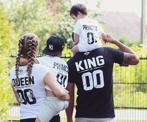 family, fashion, and king image
