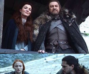 game of thrones, jon snow, and stark image