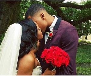 black people, blackLove, and couple image