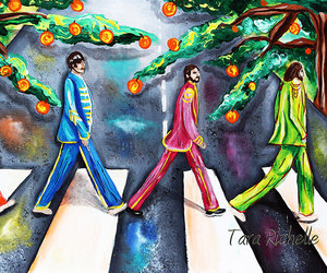 abbey road, beatles, and etsy image