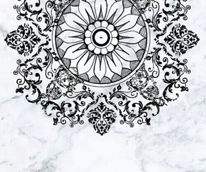 background, black white, and mandala image