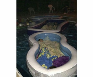 pool and funny image