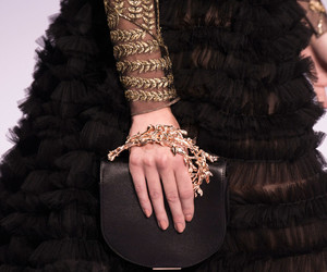 chiffon, clutch, and haute couture image