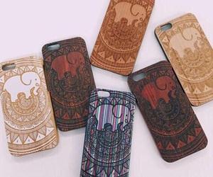 bohemian, elephant, and iphone image