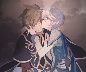 tales of zestiria, sorey, and mikleo image