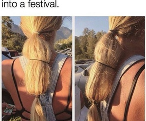 festival, lol, and hair+ image