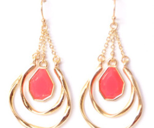 chic, fashion, and earrings image