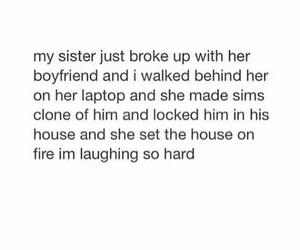 boyfriend, funny, and break ups image