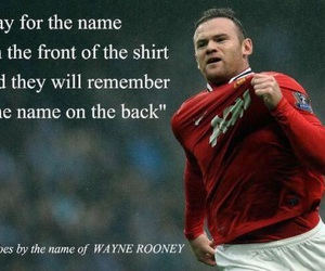 football, manchester united, and wayne rooney image