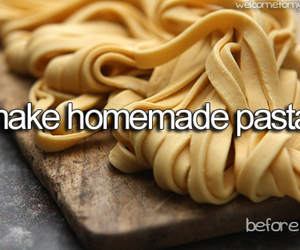 food, pasta, and tumblr image