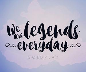 adventure, coldplay, and Lyrics image