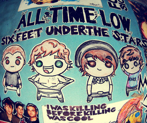 all time low and boy image