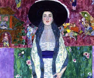 Gustav Klimt, art, and painting image