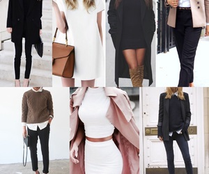 girl, style, and office fashion image