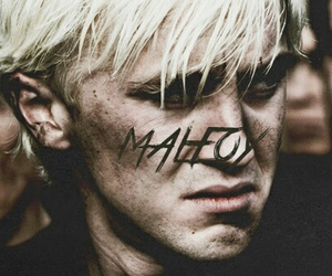 draco malfoy, harry potter, and hogwarts image