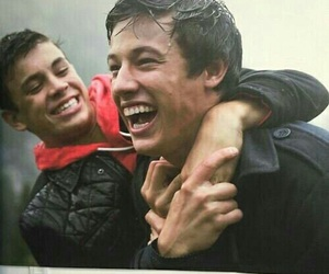 cameron dallas, hayes grier, and magcon image