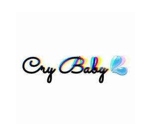 cry, crybaby, and wallpaper image