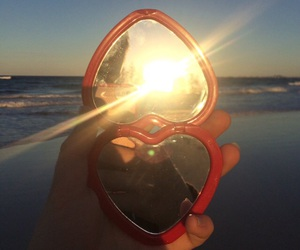 aesthetic, sun, and heart image