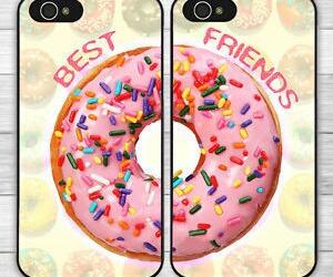 best friends, doughnuts, and ebay image