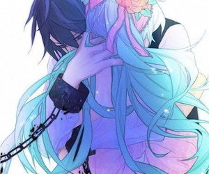 anime, vocaloid, and kaito image