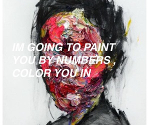 aesthetic, painting, and quotes image