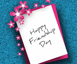 friendship day and happy friendship day image