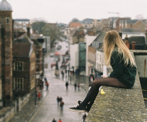 city, girl, and pretty image