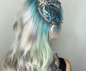 braids, hair color, and hair image