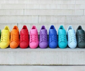 adidas, color, and fashion image