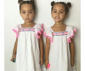 girl, baby, and sister image