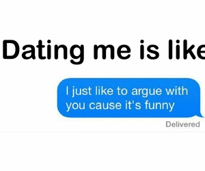 date, funny, and text image