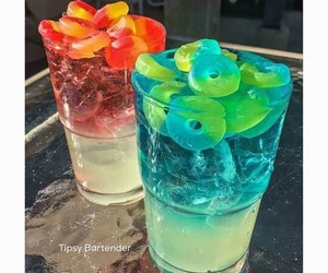 blue, drinks, and want image