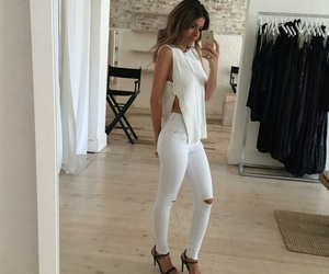 fashion, jumper, and outfit image