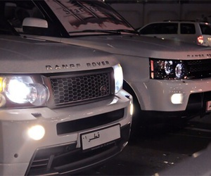 fast, white, and rangerover image