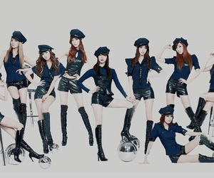 costume, navy, and snsd image
