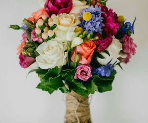 bouquet, flowers, and plants image