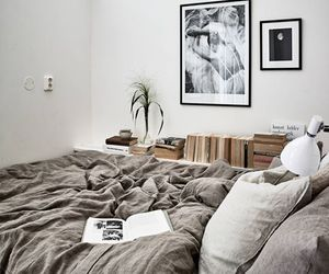 bedroom, minimalist, and simple image