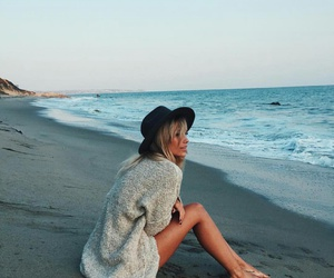 beach, summer, and fashion image