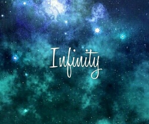 galaxy and infinity image