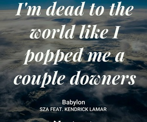 Babylon, rap, and kendrick lamar image