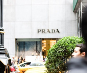 Prada and shopping image