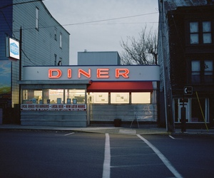 architecture, diner, and restaurant image