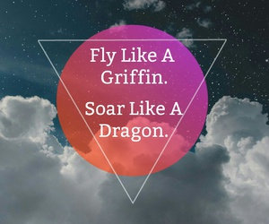 dragons, fairytales, and fly image