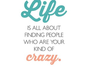 crazy and life image