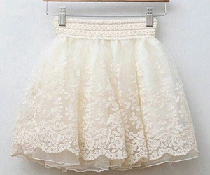 skirt, fashion, and white image